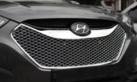 Решотка радиатора Bentley style на Hyundai ix35