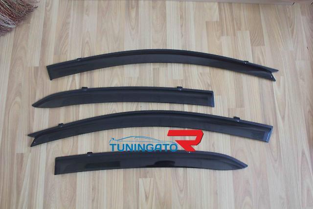 Ветровики боковые на двери для TOYOTA ALLION (2007+)