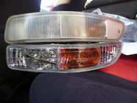 Хрустальные поворотники в бампер на Toyota Carina 92-96г.