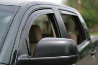 Ветровеки на двери WetherTech черные для Toyota Tundra 2007+