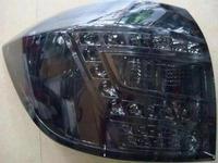 Диодные стоп-сигналы серые для Toyota Highlander 2007+