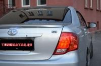 Спойлер накладка на крышку богажника, оригинал Япония, для Corolla Axio 2006-