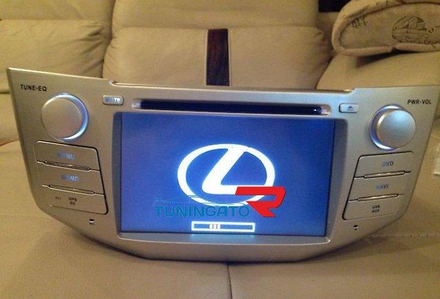 Штатная магнитола для Toyota Harrier(Lexus) 2003-2008г