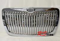 Решетка радиатора хром Dodge style для Chrysler 300C