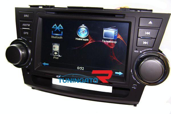 Штатная магнитола для Toyota Highlander