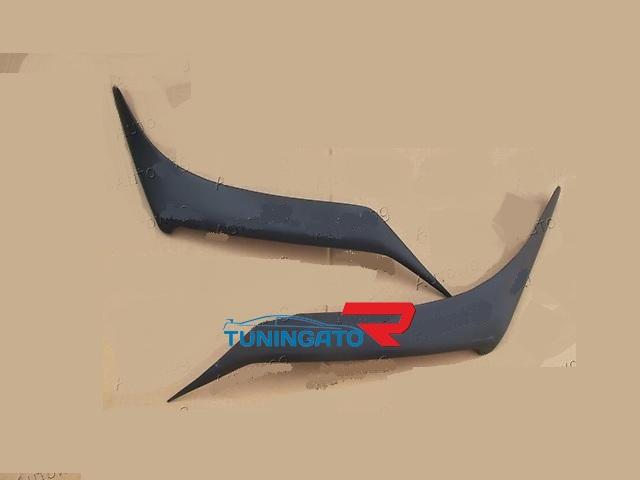 Ресницы на фары для Lexus LX570 2012г.+