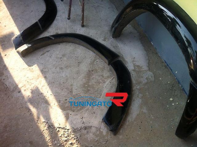 Расшерители колесных арок (фендера) 60мм.вынос на Cygnus\ Lexus 470
