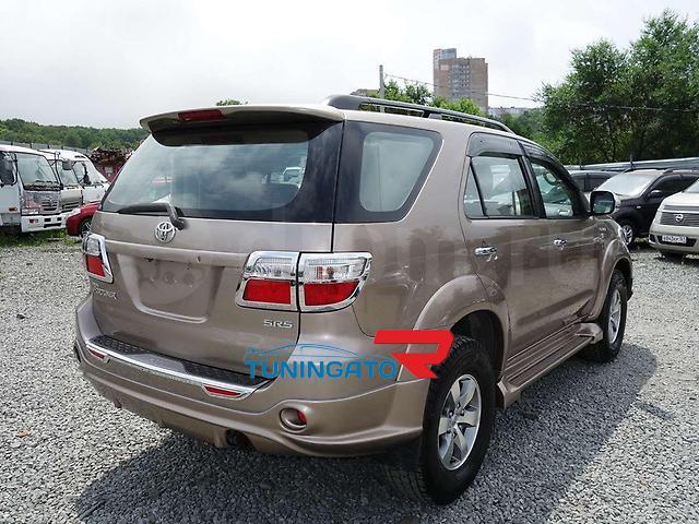 Аеродинамический обвес для Toyota FORTUNER 2010-12г.