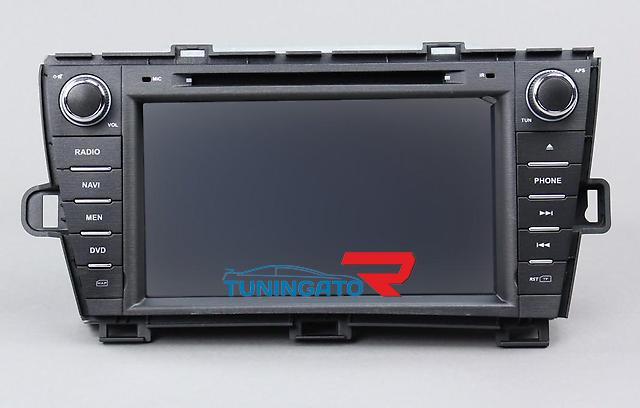 Штатная магнитола для Toyota Prius 2009 +