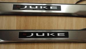 Накладки на пороги с подсветкой для Nissan JUKE