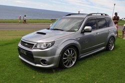 Аэродинамический обвес реплика Subaru Forester 2010