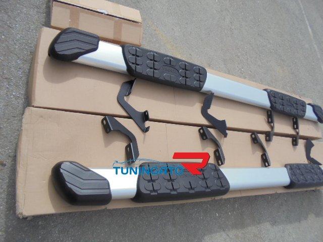 Подножки боковые для Toyota Tundra 2014-