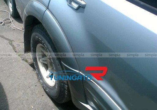Фендера расширители колесных арок Mitsubishi Pajero 00-06г.