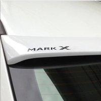 Спойлер козырек на заднее стекло для Toyota Mark X 2010г