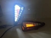 Фонари в передний бампер LED для Toyota Camry 50