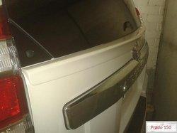 Спойлер под заднее стекло на Toyota Prado 150
