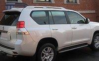 Спойлер верхний на 5ю дверь для Lexus GX460
