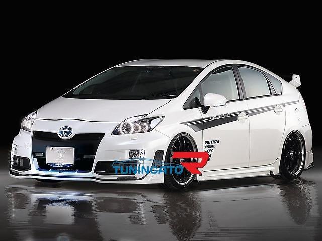"Аеродинамический обвес ""Tommy Kaira"" аналог для Toyota Prius 30"