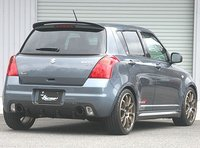Спойлер на Suzuki Swift 04-10г