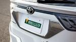 Накладка на заднию дверь под номер Modellista для Toyota Harrier 60
