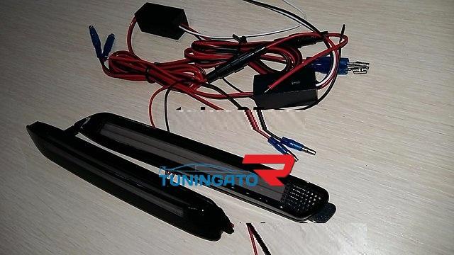 Фонари в задний бампер неоновые для TOYOTA HARRIER (1998-2002)