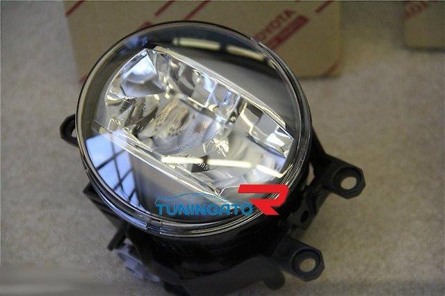 Фары в бампер диодные (туманки) для LEXUS LX570 12-