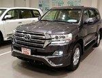 Аэродинамический обвес Executive для Toyota Land Cruiser 2015г.-