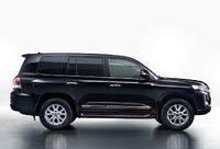 Молдинги дверей на Toyota Land Cruiser 200 2016+