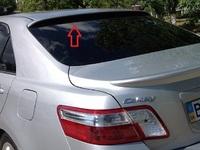 """Спойлер на стекло """"козырек"""" для Toyota Camry 2006-"""