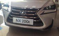 Хромированные накладки на решетку радиатора Lexus NX