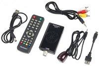 Цифровой ТВ тюнер Rolsen RDB-532 DVB T2/USB
