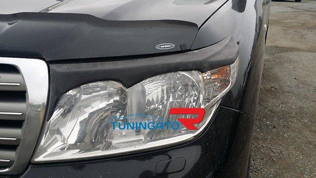 Реснички на фары тип 1 для Toyota Land Cruiser 200