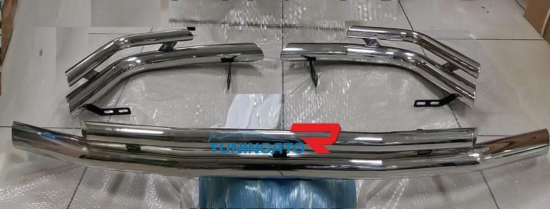 Кенгурятник передний двойная труба для TOYOTA LAND CRUISER 100 (1998-2006)