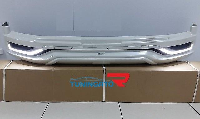 """Аэродинамический обвес """"Modellista V2"""" с LED для Toyota Land Cruiser 2015+"""