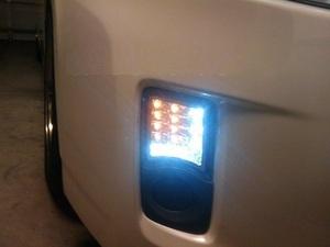 Диодные повторители в бампер для Toyota Prius 2009-12г