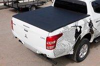 Мягкая трехсекционная крышка кузова Mitsubishi Triton/L200 2015-