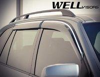 Ветровики на двери серые для BMW X5 07-16