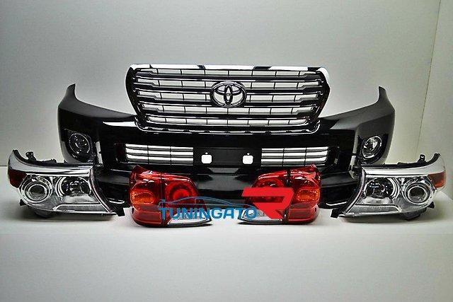 Комплект рестайлинга 1й для Land Cruiser 200 в кузов 2014г.
