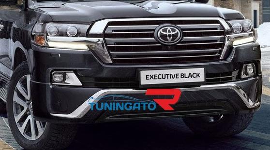 Решетка радиатора Executive Black для Land Cruiser 2015-