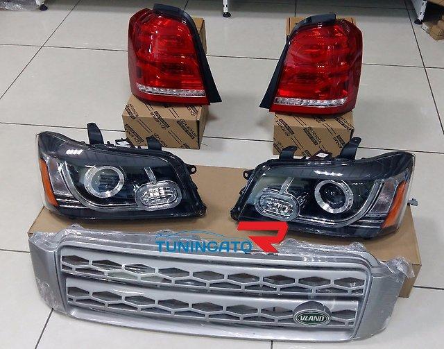 Решетка радиатора в стиле Range Rover для Toyota Kluger 01-07