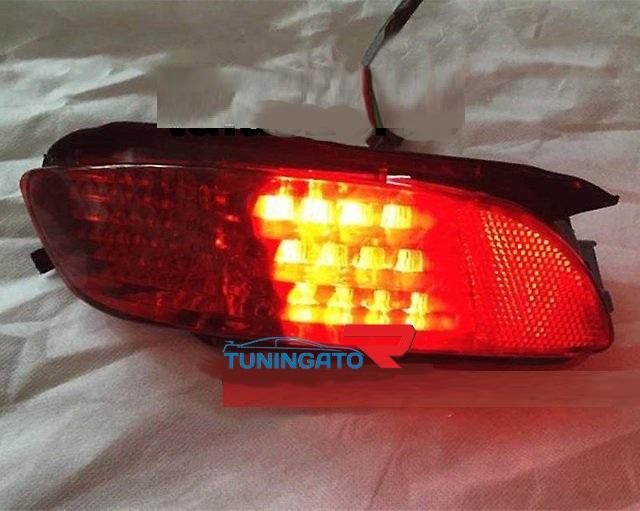 Диодные фонари в задний бампер для Toyota Harrier 02-09г.