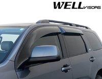 Дефлекторы боковых окон (ветровики) широкие для Toyota Sequoia 08-16