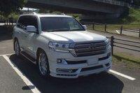 Аэродинамический обвес WALD аналог для Toyota Land Cruiser 2015г.