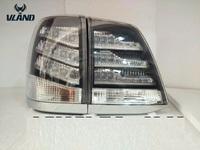 Стоп-сигнал в стиле LEXUS черные для Land Cruiser 200 07-