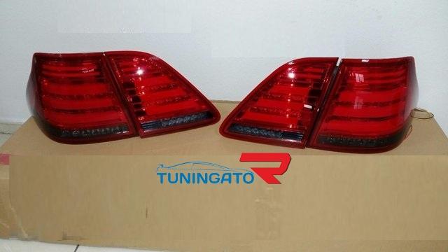 Диодные стоп-сигналы красные для Toyota Crown 04-08г 180