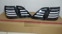 Диодные стоп-сигналы черные для Toyota Crown 04-08г 180