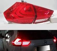 Диодные стоп-сигналы в стиле BMW для Nissan X-Trail 2014+