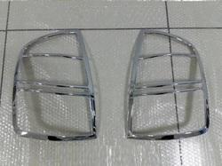 Хром накладки на Стопы на Toyota Prius 03-09г.