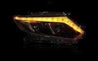 Фары в стиле Mercedes для Nissan X-Trail 14г-