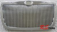 Решетка радиатора хром Dodge style 2 для Chrysler 300C